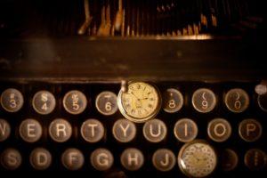 Du temps pour écrire