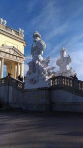 Les Statues de la Gloriette à Schönbrunn