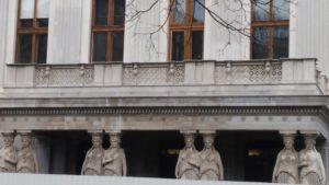Les cariatides du parlement autrichien