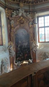 L'intérieur du Belvédère à Vienne