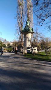 Le Stadt Park de Vienne