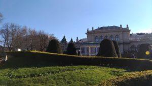 Le jardin d'hiver du Stadt Park de Vienne