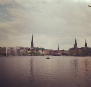 Hambourg : le lac