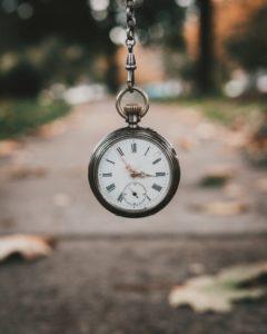 Avoir le temps - montre à gousset