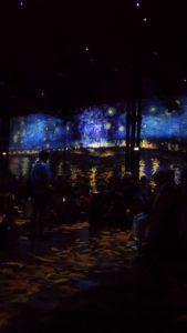 Film Van Gogh à l'atelier des lumières