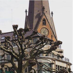 Le rathaus d'Hambourg