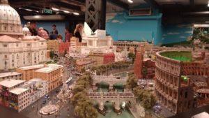 Le musée Wunderland à Hambourg : Rome