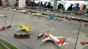 Le musée Wunderland à Hambourg : l'aéroport