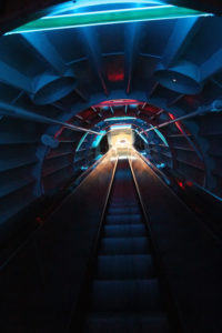 L'atomium de Bruxelles, inspiration pour écrire une dystopie
