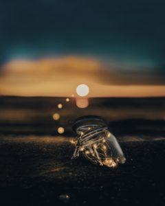 L'inspiration, pot sur la plage