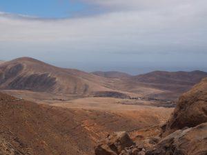 Fuerteventura, paysage désertique