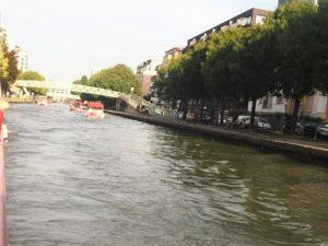 Les marins d'eau douce sur le canal de l'Ourcq
