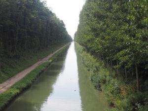 Le canal de l'Ourcq à Vert Galant