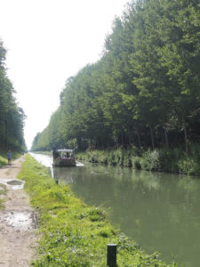 croisière sur le canal de l'Ourcq de la villette au parc de la poudrerie