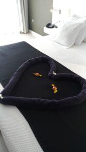 Lit king size hôtel romantic fantasia de Fuerteventura