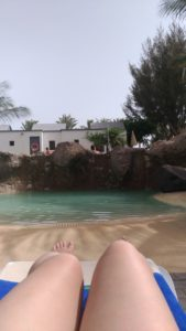 Piscine de l'hôtel Fantasy Romantic à Fuerteventura