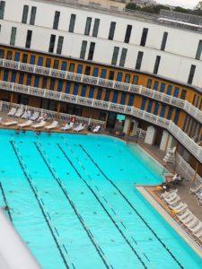 La piscine Molitor vue de son rooftop