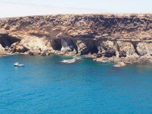 Les grottes à Ajuy