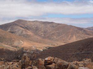 Sur la route de Fuerteventura