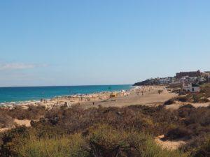La plage de Sotevento à Fuerteventura