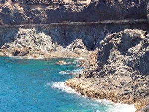 La côte d'Ajuy à Fuerteventura