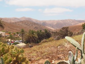 Fuerteventura, vue de Bettancuria