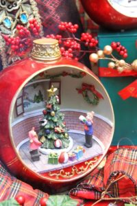 Un diorama de Noël