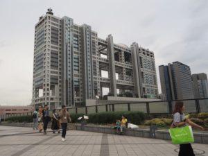 Tokyo Odaiba, building Fuji TV