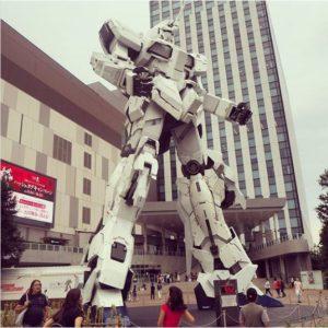 Tokyo Odaiba, la statue Gundam