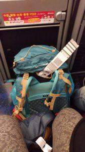 Mon sac de voyage au pays du soleil levant
