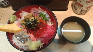 Sushis à Tsukiji