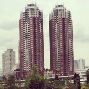 L'architecture folle de la baie de Tokyo