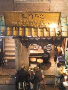 Restaurant de brochettes à Shinjuku