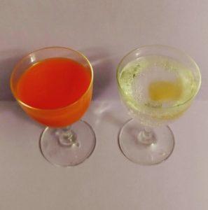 Le match de l'apéro : jus de carotte ou perrier citron gingembre