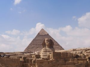 Le sphinx d'Egypte