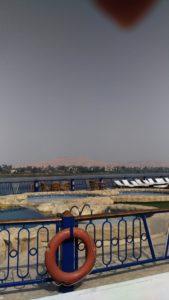 Bateau de croisière en Egypte