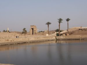 Le lac sacré de Karnak