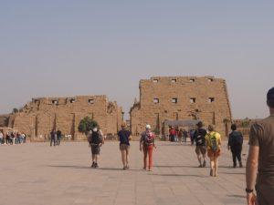 Le temple de Karnak à Louxor