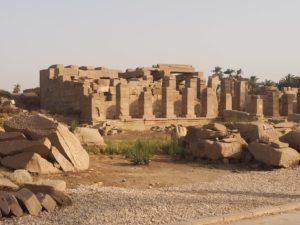 Les ruines de Karnak
