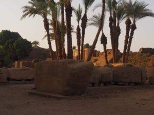 Karnak au couchant