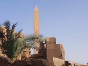 Obélisque du temple de Karnak