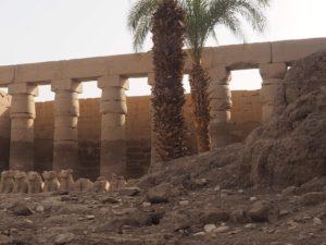 Les torchis du temple de Karnak