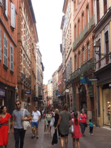 La marche dans Toulouse