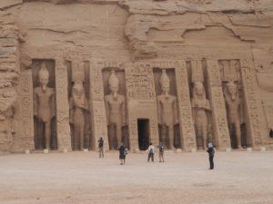Le temple de Nefertari à Abou Simbel