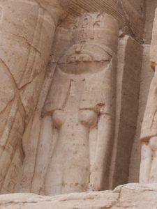 Statue à Abou Simbel