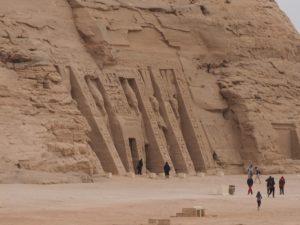 Temple de Nefertari à Abou Simbel