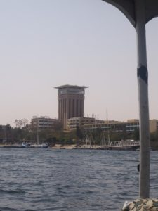 La tour Movenpick d'Assouan