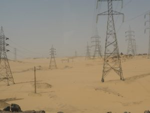 Le désert d'Assouan