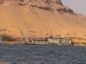 Le désert d'Egypte