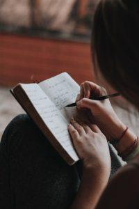 Ecrire un journal intime